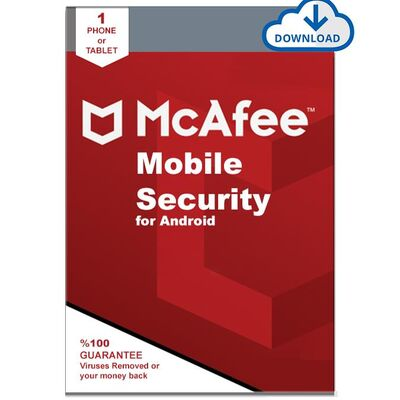 McAfee Mobile Security 1 Cihaz Android