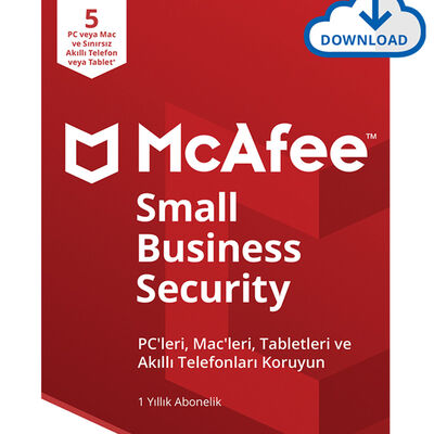 McAfee Small Business Security 5 Cihaz Windows & MacOS